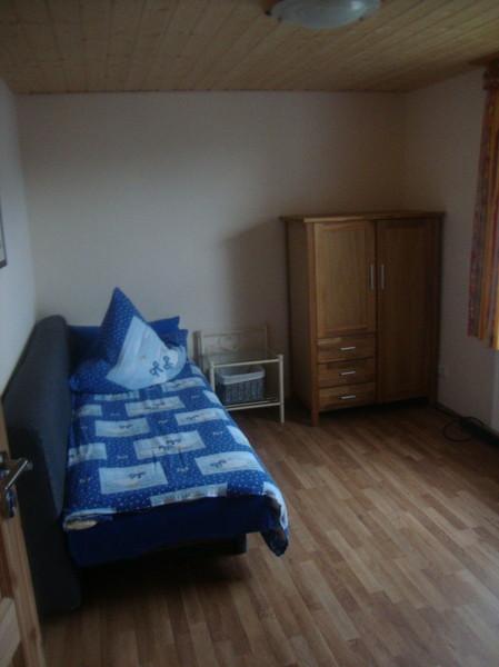 Wohn-/Schlafzimmer Monteurzimmer Windeck