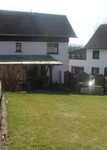 Monteurzimmer Windeck mit überdachter Terasse und großem Garten